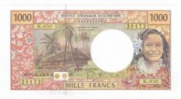 Polynésie Française / Tahiti - 1000 FCFP / K.050 / 2012 / Signatures: De Seze-Noyer-Besse - Neuf / Jamais Circulé - Papeete (Polynésie Française 1914-1985)