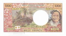 Polynésie Française / Tahiti - 1000 FCFP / N.050 / 2012 / Signatures: De Seze-Noyer-Besse - Neuf / Jamais Circulé - Papeete (Polynésie Française 1914-1985)