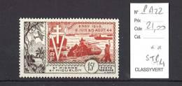 Saint Pierre Et Miquelon  Yvert  Poste Aérienne 22 ** - St.Pierre & Miquelon