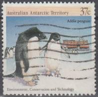 Australian Antarctic Territory 1988 Michel 82 O Cote (2005) 1.10 Euro Manchot Adélie - Oblitérés