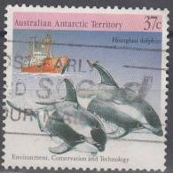 Australian Antarctic Territory 1988 Michel 79 O Cote (2005) 1.10 Euro Dauphin - Oblitérés