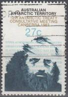 Australian Antarctic Territory 1983 Michel 60 O Cote (2005) 0.60 Euro Conference De Traite De L´antarctique - Oblitérés