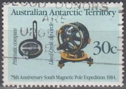 Australian Antarctic Territory 1984 Michel 61 O Cote (2005) 0.50 Euro 75ème Anniversaire De Première Expédition Polaire - Territoire Antarctique Australien (AAT)
