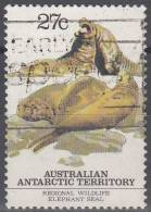 Australian Antarctic Territory 1983 Michel 57 O Cote (2005) 0.60 Euro Eléphant De Mer - Oblitérés