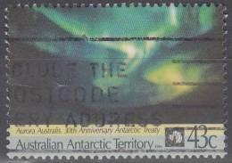 Australian Antarctic Territory 1991 Michel 88 O Cote (2005) 0.80 Euro Aurore Polaire - Oblitérés