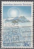 Australian Antarctic Territory 1986 Michel 73 O Cote (2005) 0.80 Euro Montagnes Prince Charles - Oblitérés