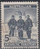 Australian Antarctic Territory 1961 Michel 6 O Cote (2005) 0.20 Euro Première Découverte Du Pole Magnétique - Oblitérés
