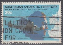 Australian Antarctic Territory 1979 Michel 35 O Cote (2005) 0.40 Euro Admiral Byrd Avec Avion - Oblitérés