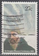 Australian Antarctic Territory 1982 Michel 53 O Cote (2005) 0.20 Euro Douglas Mawson - Territoire Antarctique Australien (AAT)