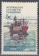 Australian Antarctic Territory 1979 Michel 39 O Cote (2005) 0.30 Euro Bâteau Thala Dan - Territoire Antarctique Australien (AAT)