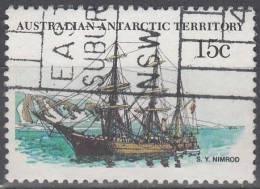 Australian Antarctic Territory 1979 Michel 41 O Cote (2005) 2.00 Euro Bâteau Morning - Territoire Antarctique Australien (AAT)