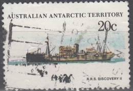 Australian Antarctic Territory 1979 Michel 43 O Cote (2005) 0.60 Euro Bâteau Discovery II - Oblitérés