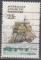 Australian Antarctic Territory 1979 Michel 44 O Cote (2005) 0.80 Euro Bâteau Terra Nova - Oblitérés