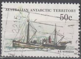 Australian Antarctic Territory 1979 Michel 50 O Cote (2005) 0.60 Euro Bâteau Norvegia - Oblitérés