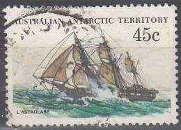 Australian Antarctic Territory 1979 Michel 49 O Cote (2005) 0.60 Euro Bâteau L´Astrolabe Cachet Rond - Oblitérés