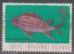 Cocos (Keeling) Islands 1998 Michel 367 O Cote (2005) 1.00 Euro Poisson Soldat - Cocos (Keeling) Islands