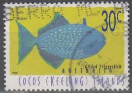 Cocos (Keeling) Islands 1996 Michel 350 O Cote (2005) 0.40 Euro Poisson Cachet Rond - Cocos (Keeling) Islands