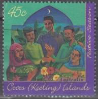 Cocos (Keeling) Islands 1996 Michel 343 O Cote (2005) 0.80 Euro Fête Hari-Raya - Cocos (Keeling) Islands