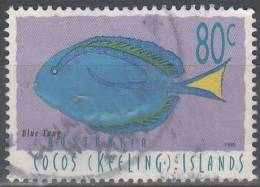 Cocos (Keeling) Islands 1995 Michel 341 O Cote (2005) 1.30 Euro Garra Rufa - Cocos (Keeling) Islands