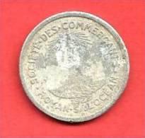 SOCIETE Des  COMMERCES , ROYAN S/ L'OCEAN , 1922 , 10 Cent. - Monétaires / De Nécessité