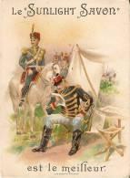 Chromos 341 Soldat Militaire Le Sunlight Savon Est Le Meilleur O.de Rycker Brux. - Cromo