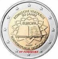 VF MOEDA DE 2 EUROS TRATADO DE ROMA   DA  ALEMANHA 2007  LETRA # A # - Germania
