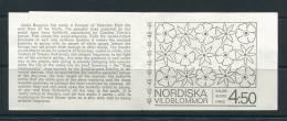 Sweden 1968 Booklet Sc 786A MNH Wild Floewers CV  $11.00 - Booklets