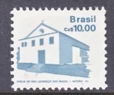 Brazil  2068   *   CHURCH  1986-88 Issie - Brazil