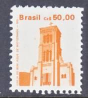 Brazil  2070   *   CHURCH  1986-88 Issie - Brazil