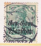 General Government  N 8  (o) - Besetzungen 1914-18