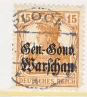 General Government  N 11  Corner Fault  (o) - Occupation 1914-18