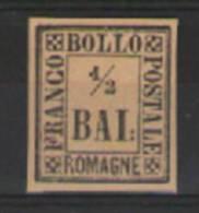 ANTICHI STATI ITALIANI ROMAGNE 1859 SASS.1 MNH SENZA GOMMA VF - Romagna