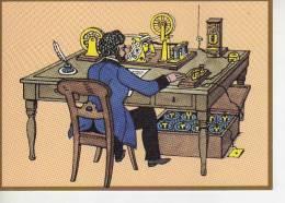 TELEGRAPHENBÜRO 1863  POSTALES CONMEMORATIVAS 500 JAHRE POST JUBILÄUMS POST KARTE   OHL - Post