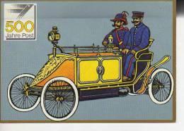 MOTORPOSTWAGEN  BERLIN, UM 1900  POSTALES CONMEMORATIVAS 500 JAHRE POST JUBILÄUMS POST KARTE   OHL - Post