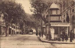 83 - TOULON - Var - Le Boulevard De Strasbourg - Strasbourg Ring - Toulon