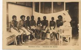 Fiji Makogai Pansement Aux Lepreux Leper Hospital Mission Société De Marie - Fidji
