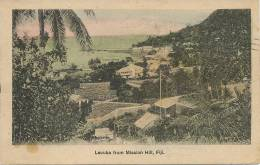Fiji   Levuka From Mission Hill Hand Colored  Edit Arthur Mills - Fidji