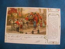 CP....V....POSTE.. LES POSTES FRANCAISES ..LES TURGOTINES. .PRECURSEUR 1901 - Poste & Postini