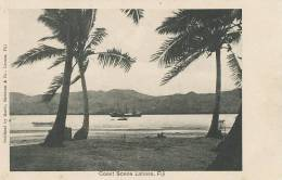 Fiji Coast Scene Labasa  Morris , Hedstrom Levuka - Fiji