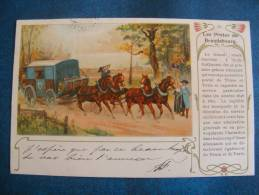 CP....IV....POSTE.. LES POSTES  DE BRANDEBOURG. .PRECURSEUR 1901 - Poste & Postini
