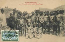 Congo Français 342 Groupe Femmes Pandé Haute Sangha  Piercing Nez - Kongo - Brazzaville