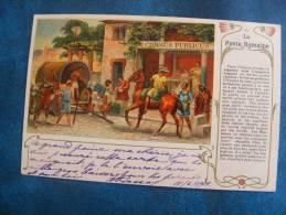 CP....I...POSTE..LA POSTE ROMAINE. .PRECURSEUR 1901.. - Poste & Postini