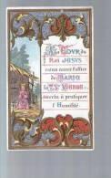 Image Pieuse Religieuse Holy Card - Ed Bouasse Lebel - A La Cour Du Roi Jésus ... Vertu à Pratiquer : L' Humilité - Andachtsbilder