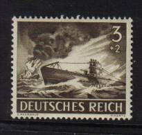 GERMANY DEUTCHES REICH THIRD B218-819-831  MNH 1943 PREMIUM UNMOUNTED MINT ALEMAGNE DEUTSCHLAND ALEMANIA - Germany
