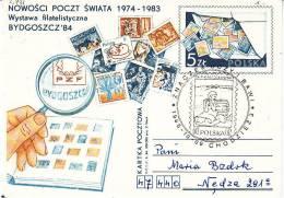 Polen-Chodziez 1985. Briefmarke Im Stempelbild (2.731) - 1944-.... Republik