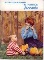 FERRANIA FOTOGRAFARE E´ FACILE OPUSCOLO MANUALE TECNICO 1963 PAGINE 33 - Materiale & Accessori
