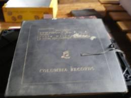Coffret De 5 Disques Vinyles 33 T Colombia Records Beethoven  Symphony N°7 F.  Weingartner  Royal Philarmonic Orchestra - Classique
