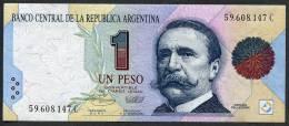 - 1 PESOS - 1994 - Série C Bottero - B3008) *** UNC *** N° 59.608.147C - Argentinien