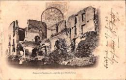 CPA  - MIREPOIX 09 Ariège  - 1902  Ruines Du Château De Lagarde - Mirepoix