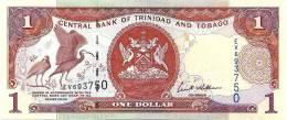 TRINIDAD AND TOBAGO $1 RED BIRD FRONT & BUILDING BACK SIGN.8 DATED 2006 UNC P.41a READ DESCRIPTION CAREFULLY !!! - Trinidad & Tobago